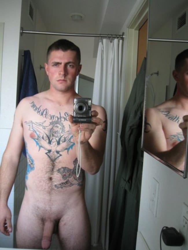 Tattooed Hot Stud