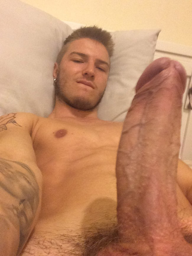 Hot Strong Guy's Cock