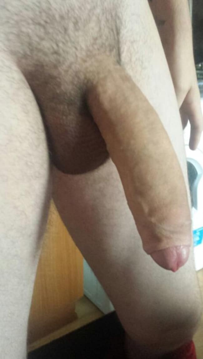 Phrase Very shaved male cock and balls