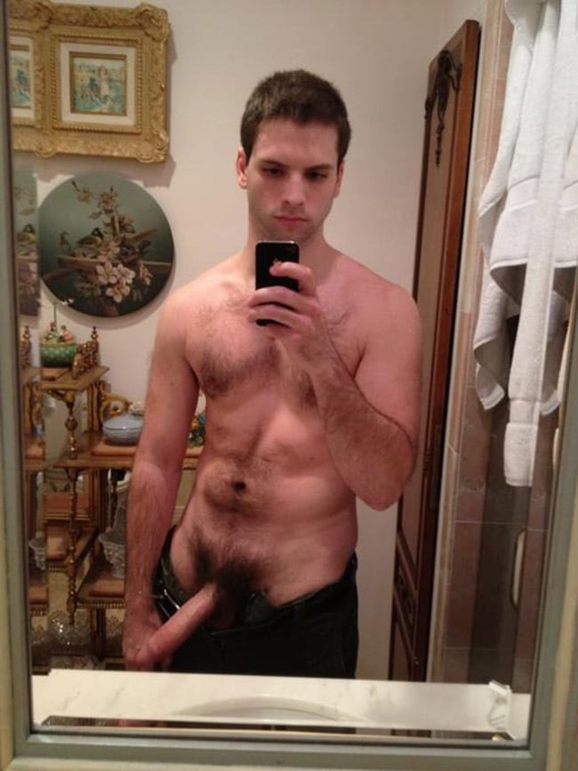 Guy taking pic of his dick naked, super hot shemale cumshot videos