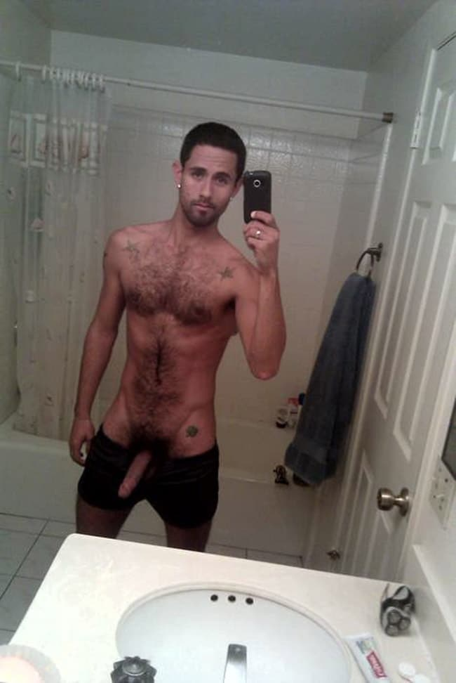 Hairy Skinny Dude With Hot Stuff - Nude Men Pictures