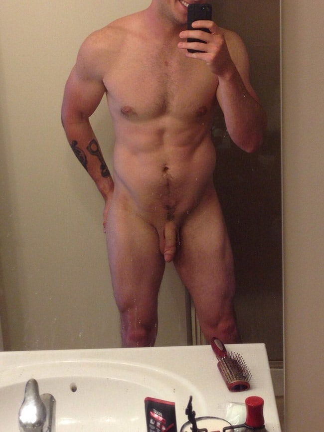 Muscled Sexy Guys Cock