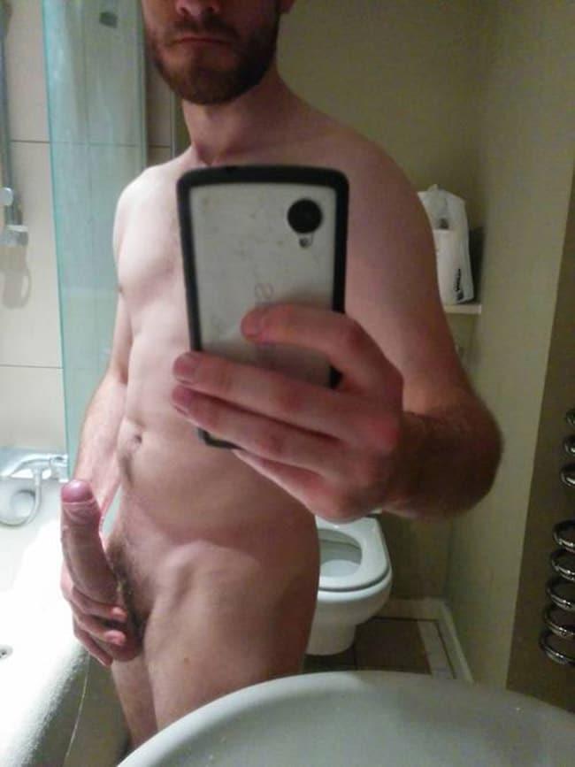 Sexy Guy's Erected Cock