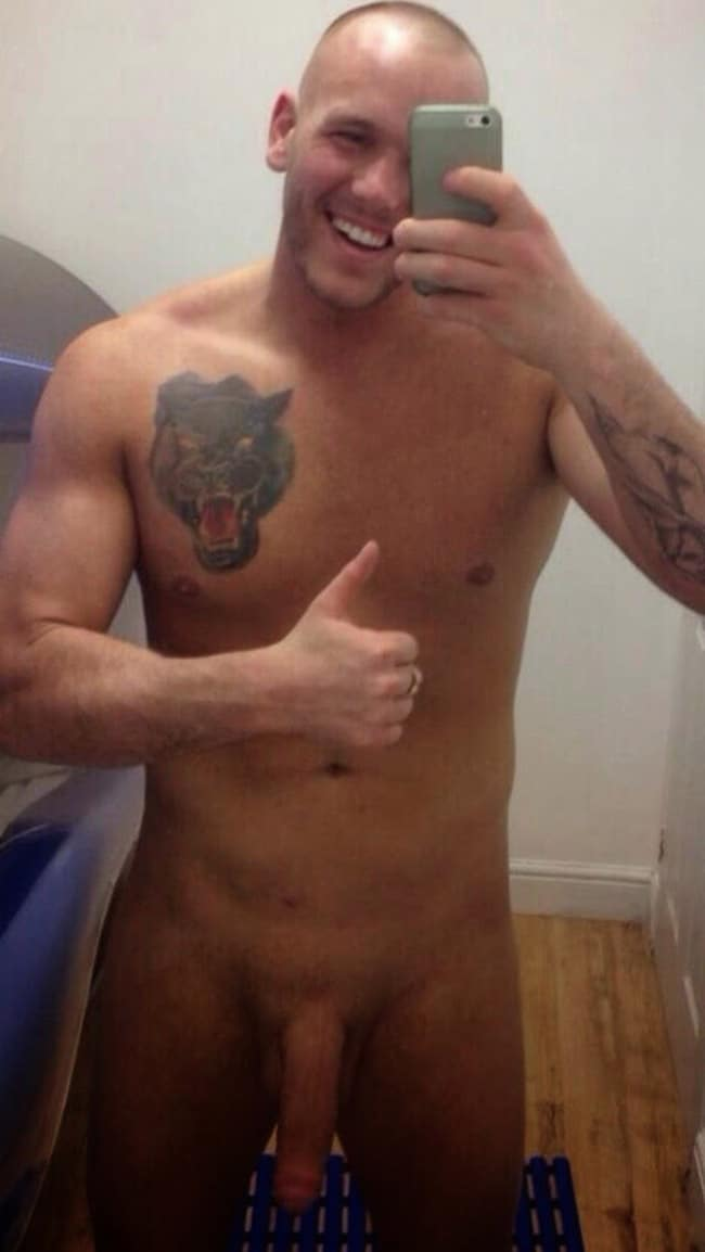 Strong Hot Guy's Cock