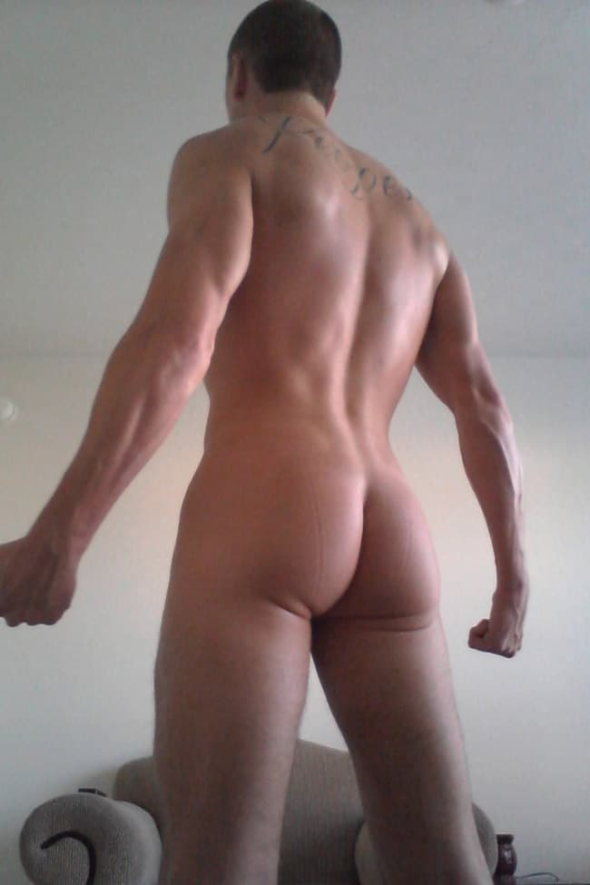 Muscled Dude's Ass