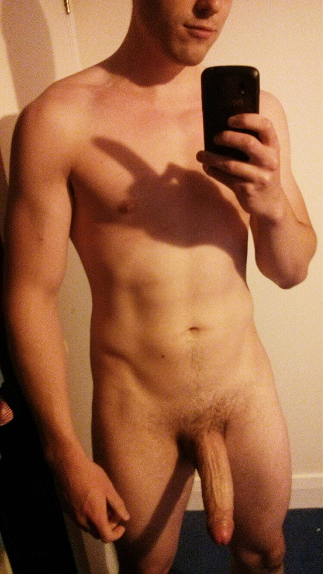 Nude men shaved body